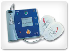 HeartStart FR2+ Defibrillator