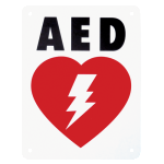 AED Wall Sign _Flat. (FSP)