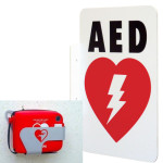 AED Wall Sign_L-shape (LSP) & Metal Wall Mount