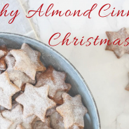 Sunday Recipe Makeover: Healthy Almond Cinnamon Christmas Star Cookies