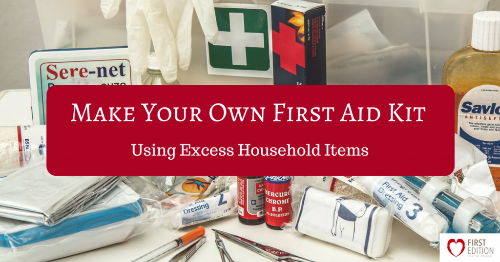 Diy First Aid Kit Using Household Items First Edition