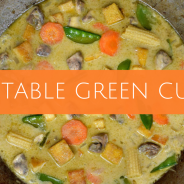Sunday Recipe Makeover – Vegetable Green Curry