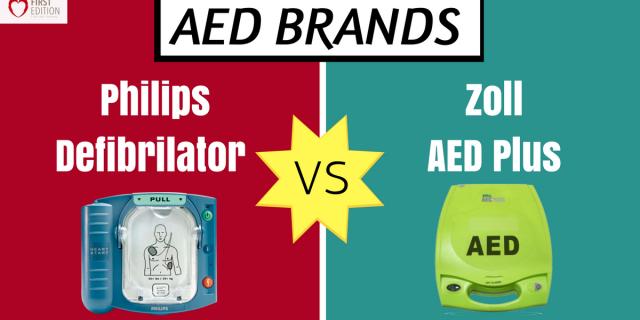 AED Brands: Philips Defibrillator Vs Zoll