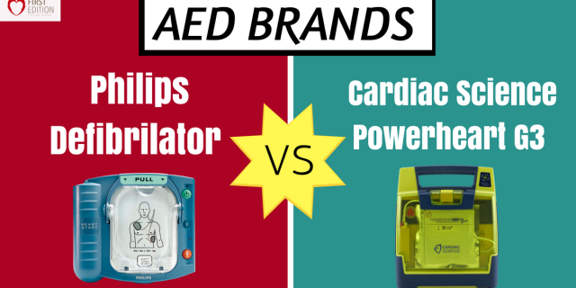 AED Brands: Philips Defibrillator Vs Cardiac Science