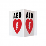 AED Wall Sign_Triangle (TSP)