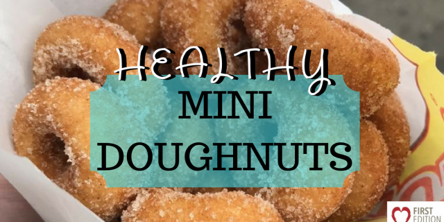 Healthy Mini Doughnuts