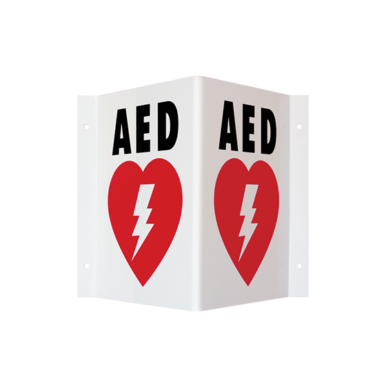 AED Wall Sign - Routine Maintenance