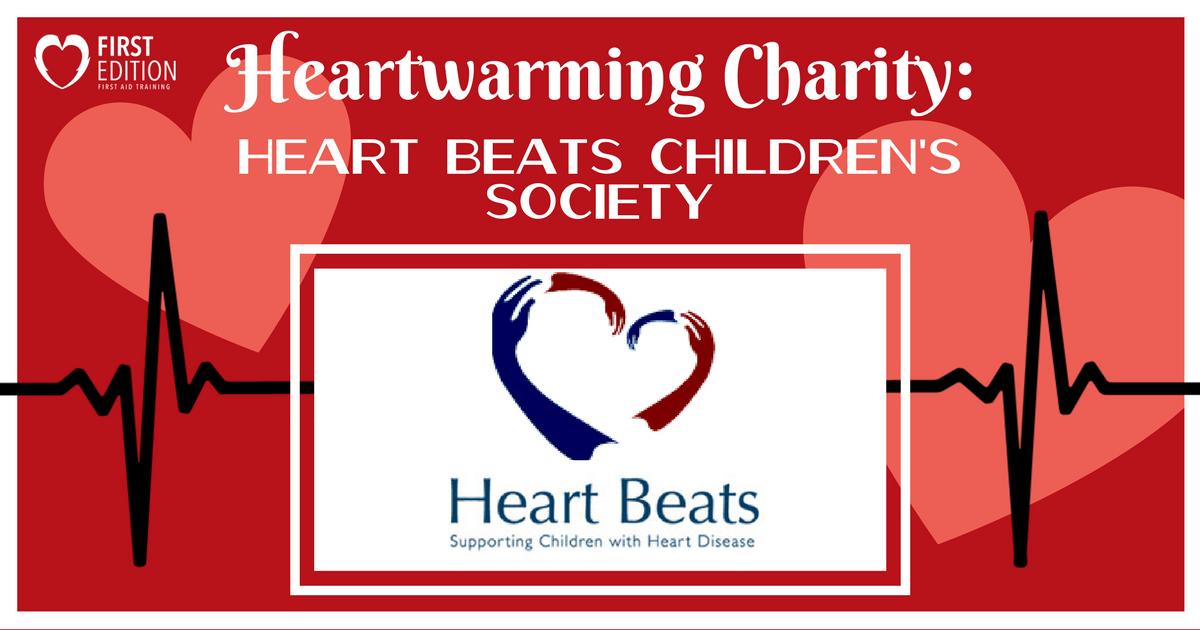 Heartwarming Charity Blog - heart Beats Image