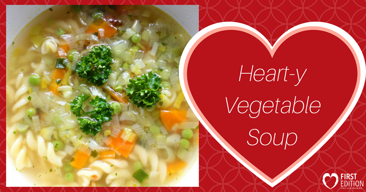 Hearty Vegetable Soup Image