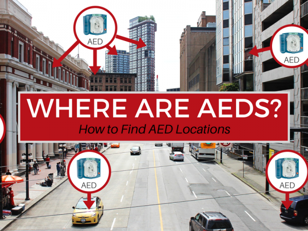 Where Are AEDs - How to find AED locations Image