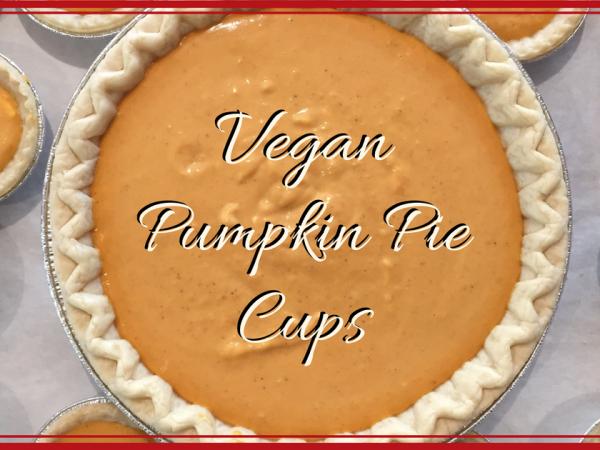 Vegan Pumpkin Pie Cups Image