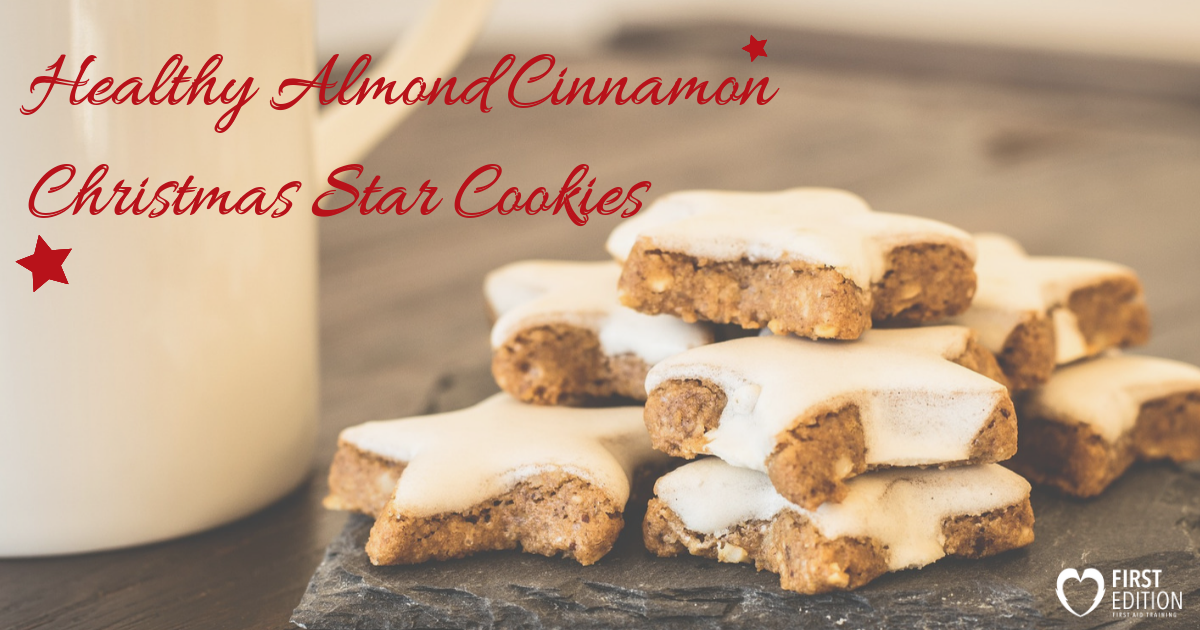 Sunday Recipe Makeover Healthy Almond Cinnamon Christmas Star