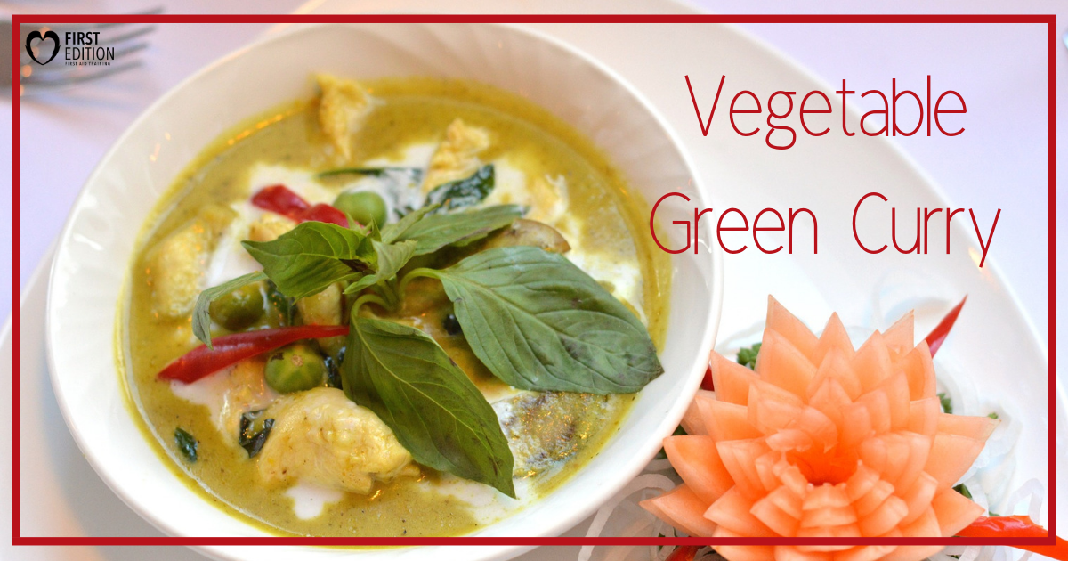 Vegetable Green Curry Image