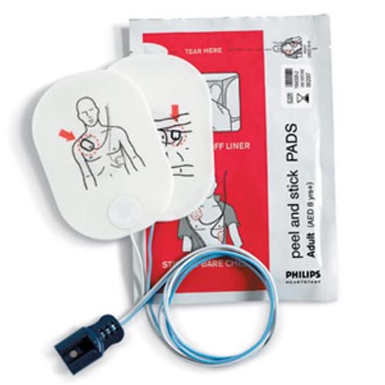 FR2 Adult Defibrillator Pads (1-Set)
