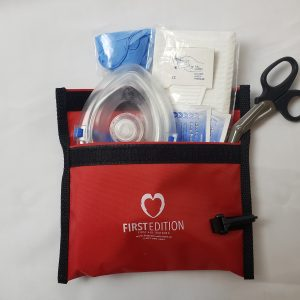 Fast Response Kit for CPR and AED in emergency situation