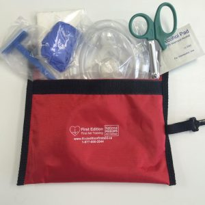 contents of a small first aid kit