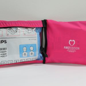 Pediatric AED Pad Pouch