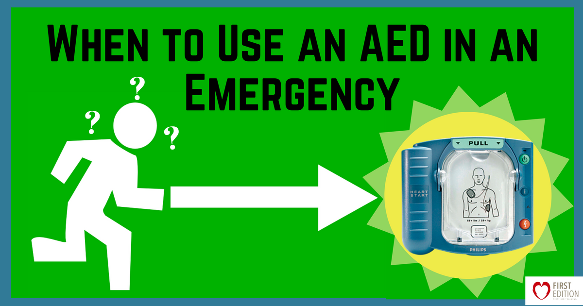 When to Use an AED in an Emergency