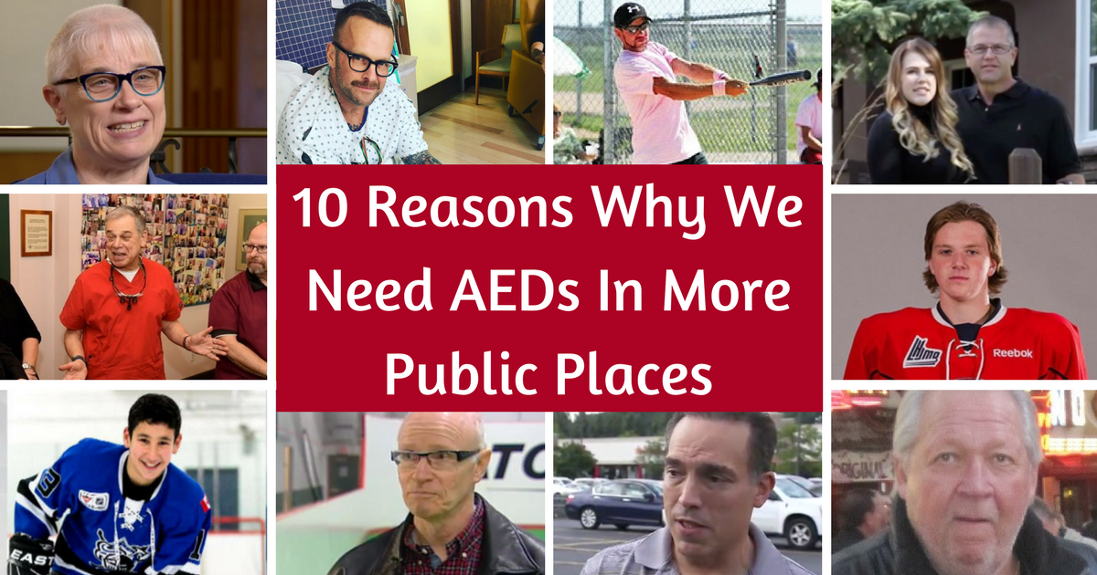 10 Reasons Why We Need AEDs in More Public Places