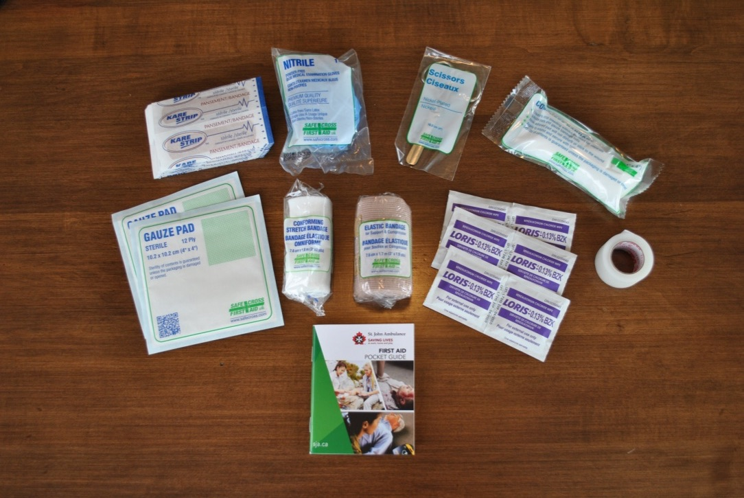OHS AB#1 First Aid Kit contents