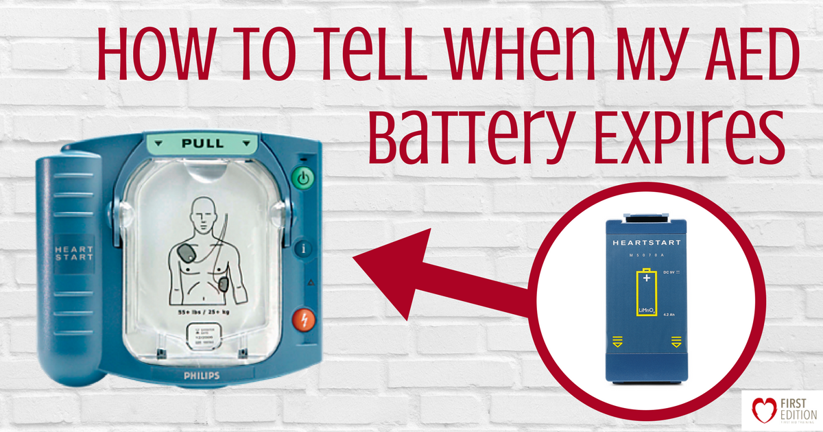 How to Tell When My AED Battery Expires