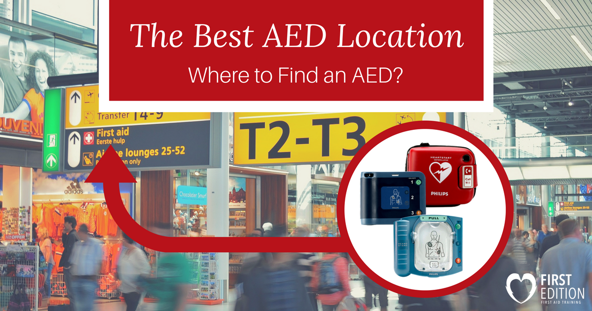 The Best AED Location – Where to Find an AED