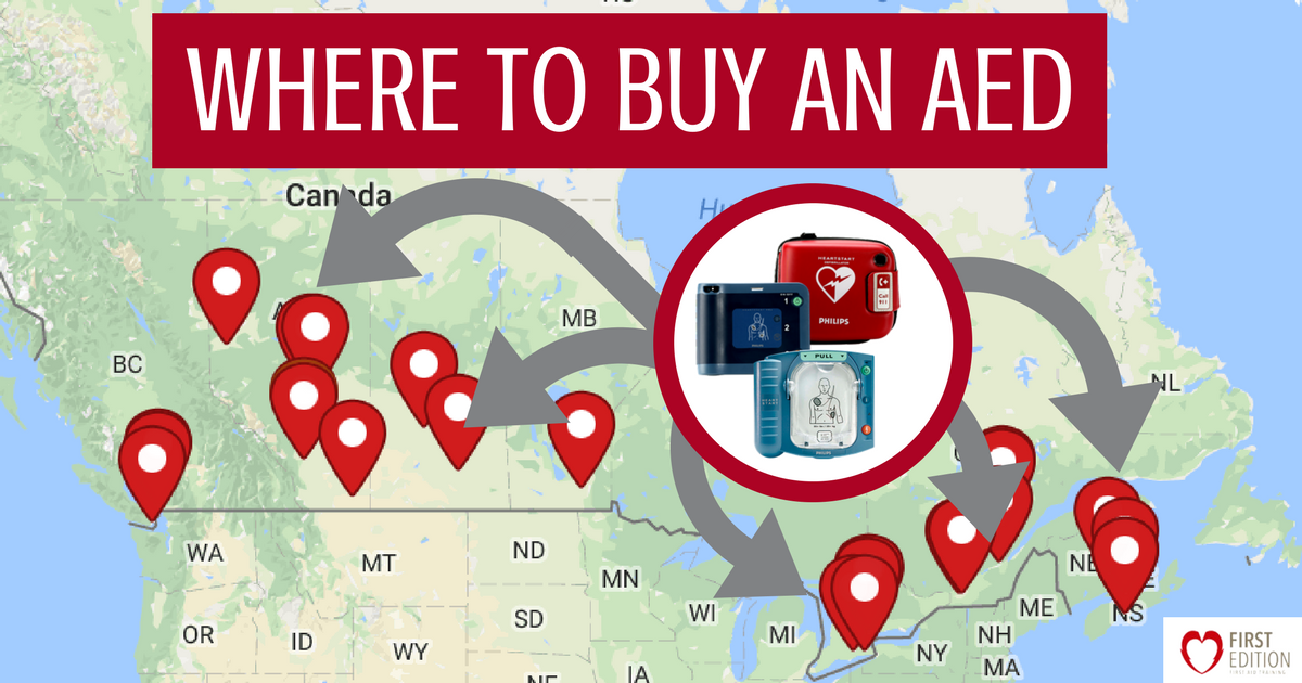 Where to Buy an AED