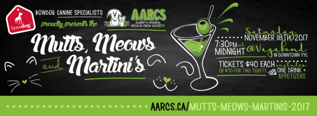 Mutts Meows Martinis - AARCS Event