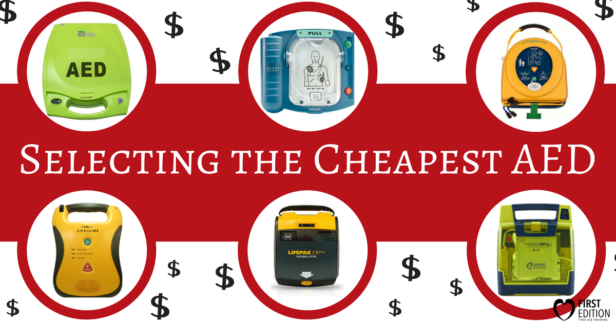 Selecting The Cheapest Aed