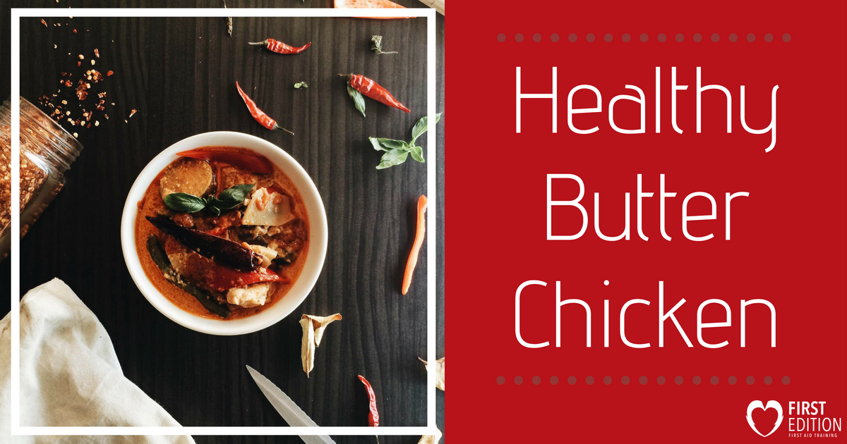 Healthy Butter Chicken Image