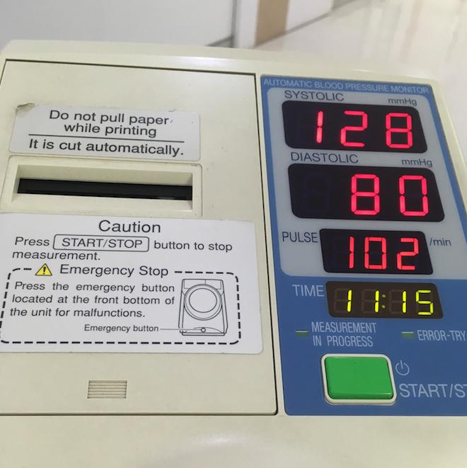 Blood Pressure - Machine