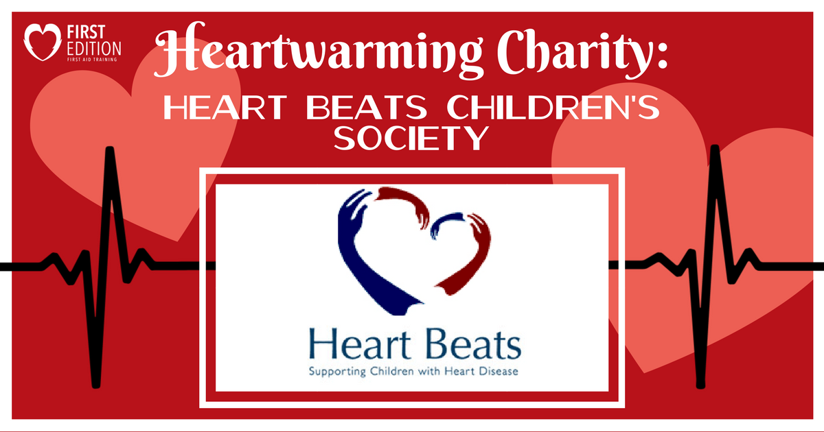 Heartwarming Charity Blog - heart Beats Image