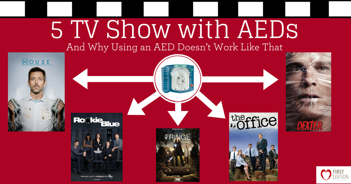 TV Shows with AEDs and Why Using an AED Doesnt Work Like That Image