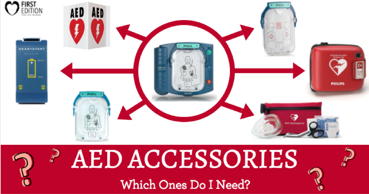 AED Accessories - Which ones do I need Image