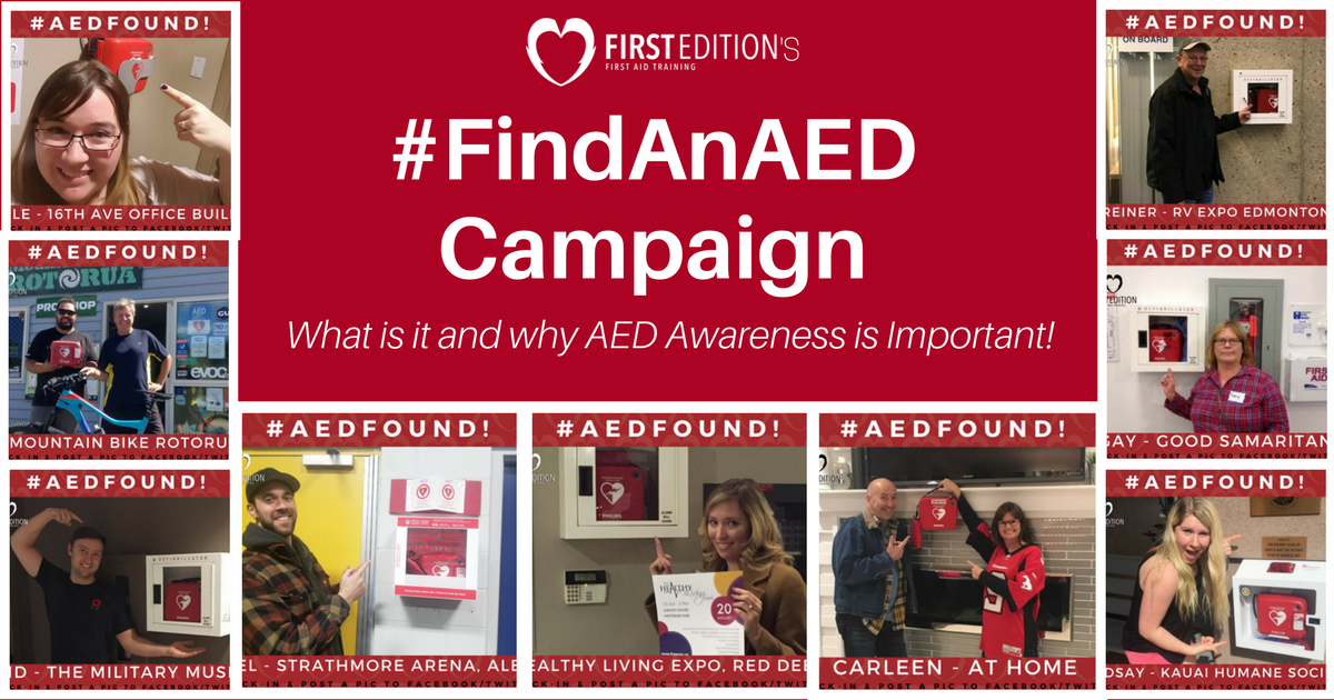 FindAnAED - AED Awareness