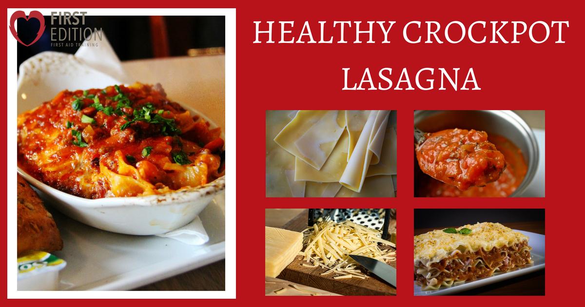 Healthy Crockpot Lasagna Image