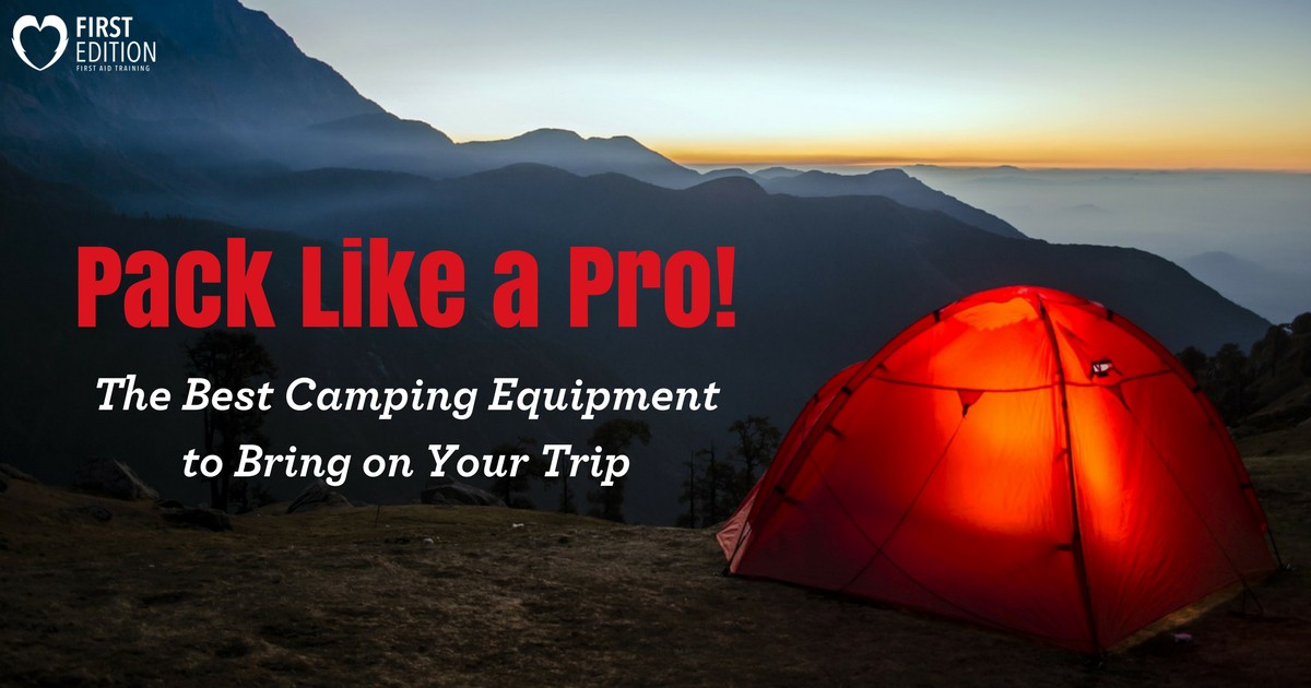 Pack Like A Pro - The Best Camping Equipment Image