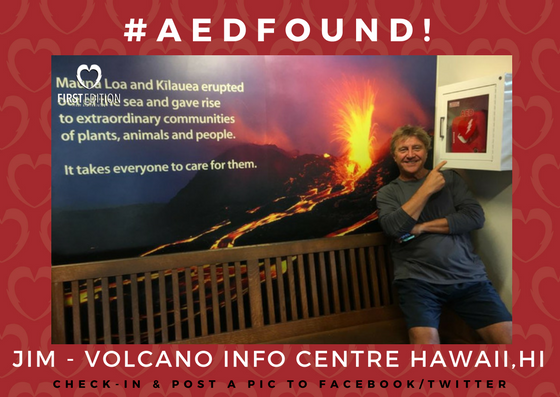 AED FOUND - JIM - HAWAII