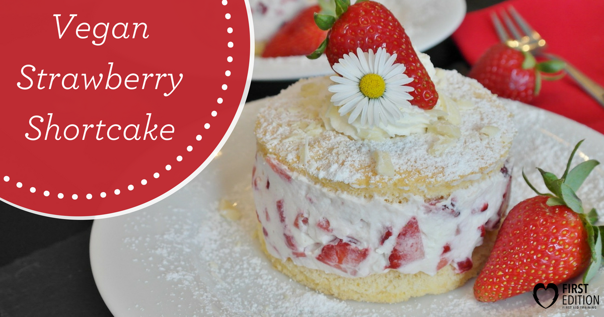 FEFA - Vegan Strawberry Shortcake