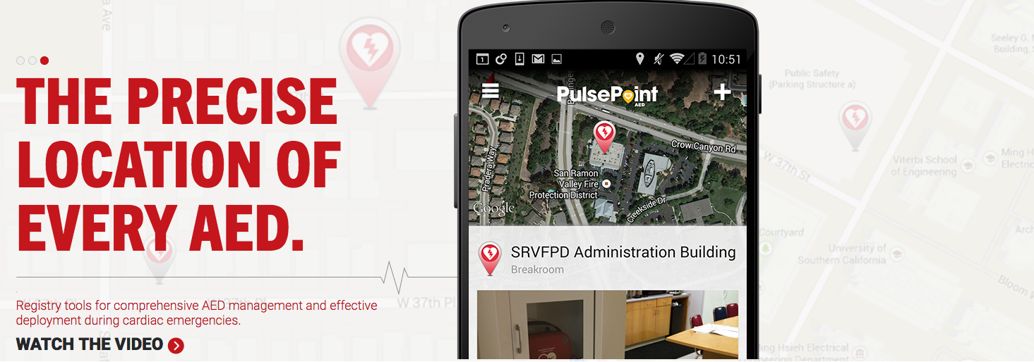 PulsePoint - AED locations