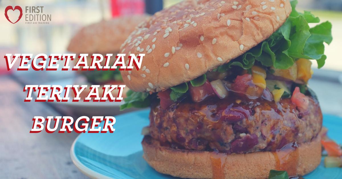 Vegetarian Teriyaki Burger - Image