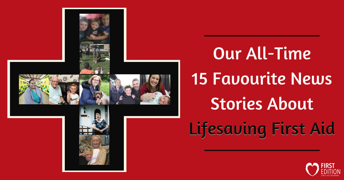 Lifesaving First Aid Stories Image