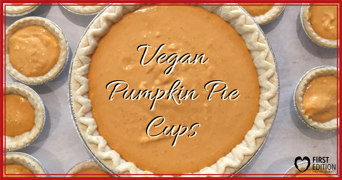 Vegan Pumpkin Pie Cups Image