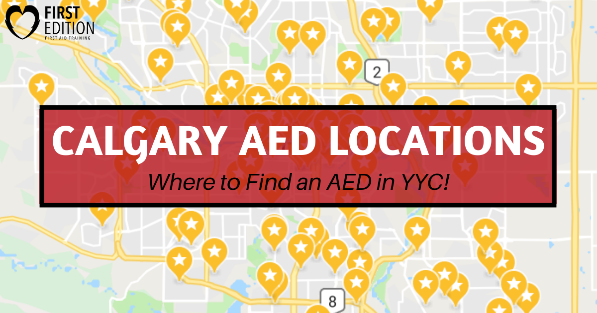 Calgary AED Locations - Image