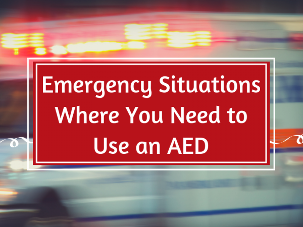 Emergencies to Use an AED Image