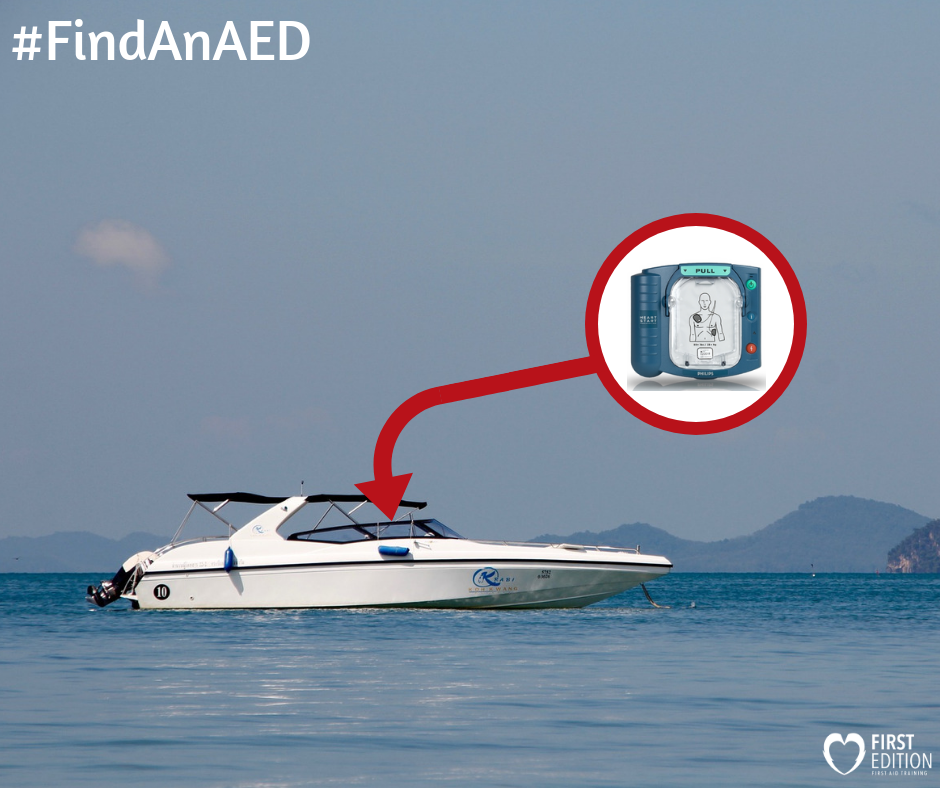 Use an AED - Drowning