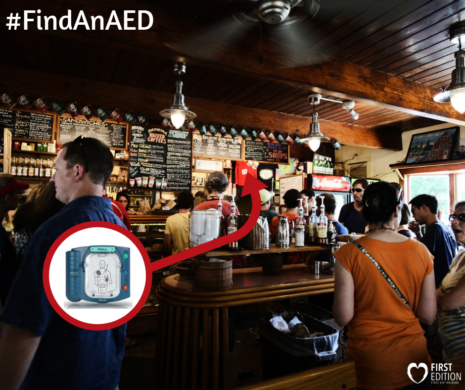 Use an AED - Heart Disease