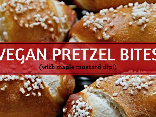 Vegan Pretzel Bites Image