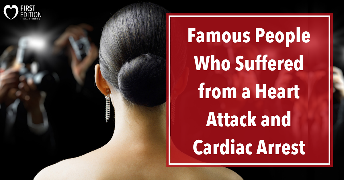Famous People w Cardiac arrest image