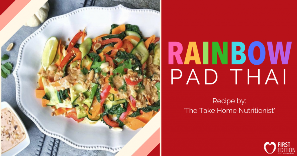 Rainbow Pad Thai Image
